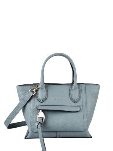 Longchamp Mailbox Sac porté main Bleu