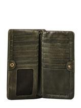 Portefeuille Heritage Cuir Biba Vert accessoires KA4-vue-porte
