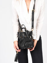 Bucket Bag S Premier Flirt Leder Lancel Zwart premier flirt A10109-vue-porte