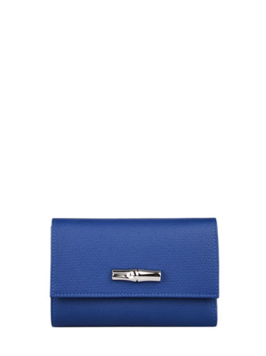 Longchamp Roseau nÉon Portefeuille Bleu