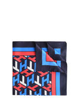 Sjaal Iconic Tommy Tommy hilfiger Blauw accessoires AW08785