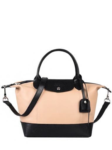 Longchamp Le pliage cuir make a wish Sac porté main