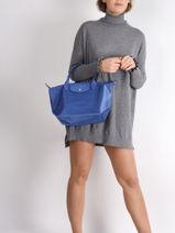 Longchamp Le pliage neo Handtas Blauw-vue-porte