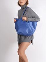 Longchamp Le pliage neo Besace Bleu-vue-porte