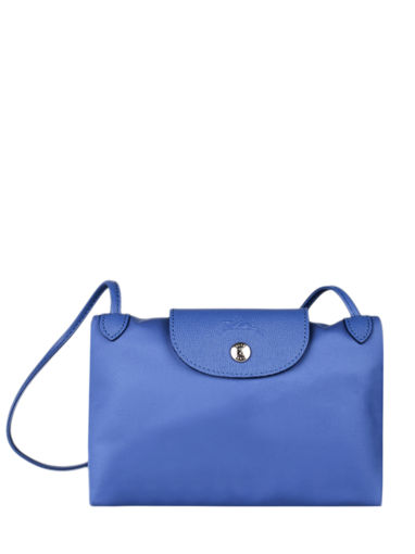 Longchamp Le pliage neo Sac porté travers Bleu