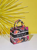 Handtas Monique Met Bloemenprint Guess Veelkleurig monique SF789476