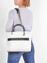 Sac à Main Illy Guess Noir illy VG797023-vue-porte