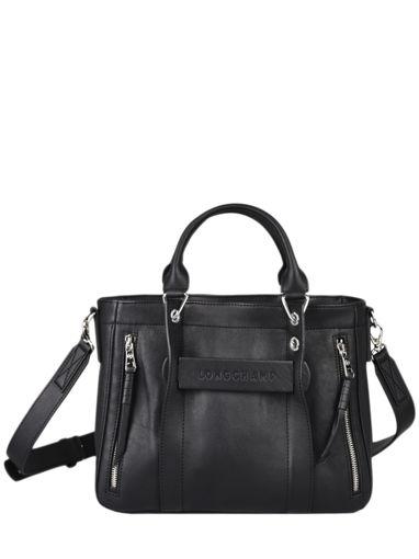 Longchamp Longchamp 3d perfecto Sac porté main Noir