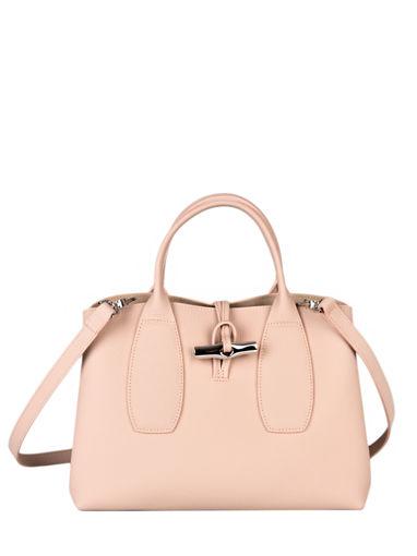 Longchamp Roseau Handtas Roze