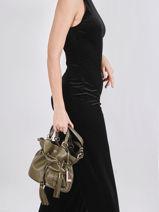 Bucket Bag S Premier Flirt Leder Lancel Groen premier flirt A10109-vue-porte