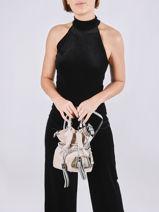 Bucket Bag S Premier Flirt Leder Lancel Roze premier flirt A10530-vue-porte