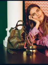 Bucket Bag S Premier Flirt Leder Lancel Groen premier flirt A10109