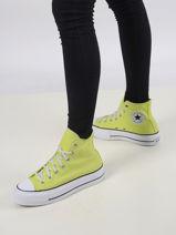 Sneakers chuck taylor platform zitron-CONVERSE-vue-porte