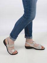 Sandales getha-MEPHISTO-vue-porte