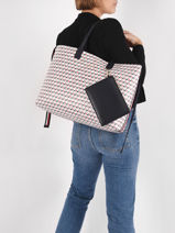 Sac Porte Epaule A4 Iconic Tommy Tommy hilfiger iconic tommy AW09660-vue-porte