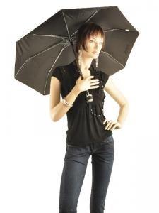 Parapluie Isotoner Noir petits prix 9189-vue-porte