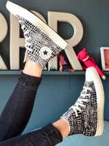 Chuck taylor croc print sneakers-CONVERSE