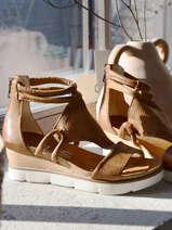 Sandales en cuir-MJUS