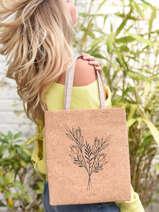 Sac Shopping Lilas Woomen lilas WLILA02