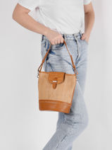 Bucket Bag Marrakech Torrow Bruin marrakech TMAR03-vue-porte