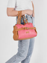Sac Shopping Calanque Torrow Rose calanque TCAL03-vue-porte