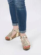 Sandales so tonka en cuir-PLAKTON-vue-porte