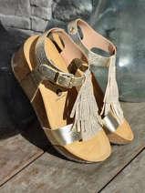 Sandalen so tonka uit leder-PLAKTON