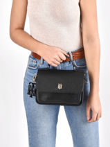 Cross Body Tas Th Soft Tommy hilfiger Zwart th soft AW09834-vue-porte