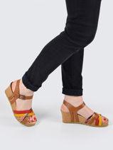 Sandales lanny en cuir-MEPHISTO-vue-porte