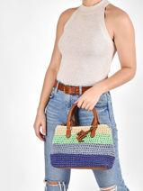 Handtas Mini Marcy Ii Raffia Lauren ralph lauren dryden 31826568-vue-porte