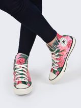 Sneakers chuck taylor high wild floral-CONVERSE-vue-porte