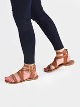 Oceanie sandalen-LES TROPEZIENNES-vue-porte