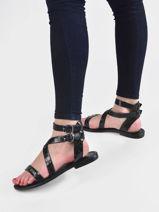 Sandales avec brides oceania-LES TROPEZIENNES-vue-porte