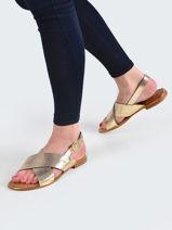 Sandales hiliana-LES TROPEZIENNES-vue-porte