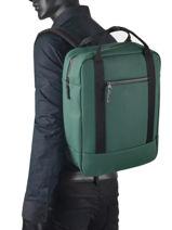 Rugzak Ison 1 Compartiment Ucon acrobatics Groen backpack ISON-vue-porte