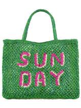 Sac Cabas Sunday The jacksons word bag SUNDAY