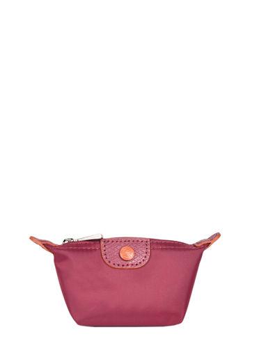 Longchamp Le pliage club Porte monnaie Rouge