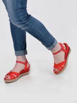Sandales talon compensé elba-TOMMY HILFIGER-vue-porte