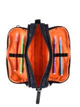 Trousse 3 Compartiments Kipling back to school / pbg PBG13564-vue-porte