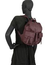 Sac à Dos 1 Compartiment Herschel Rouge classics woman 10301PBG-vue-porte