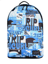 Rugzak 1 Compartiment Rip curl Blauw surf - BBPB55SU