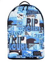 Sac à Dos 1 Compartiment Rip curl Bleu surf - BBPB55SU