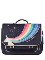 Cartable It Bag Midi 2 Compartiments Jeune premier Bleu classics CLD21