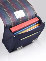 Cartable It Bag Midi 2 Compartiments Jeune premier Bleu classics CLD21-vue-porte