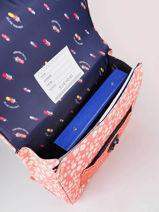 Cartable It Bag Mini Girl 2 Compartiments Jeune premier Rose daydream girls G-vue-porte