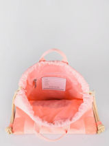 Sac De Sport City Bag Girl Jeune premier Rose daydream girls G-vue-porte
