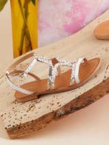 Sandales avec brides bongo-LES TROPEZIENNES