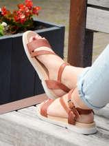 Sandales uit leder-MJUS