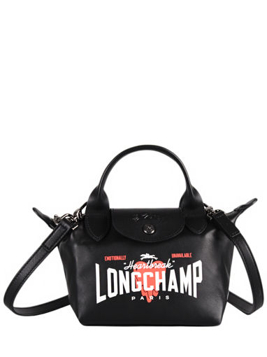 Longchamp Cascading logo Handtas Zwart