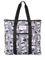 Schoudertas Minnie Mouse Mickey and minnie mouse Grijs fashion 2034